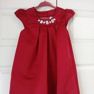 Gymboree Dresses - Gymboree satin bubble dress fancy jewels size 3T